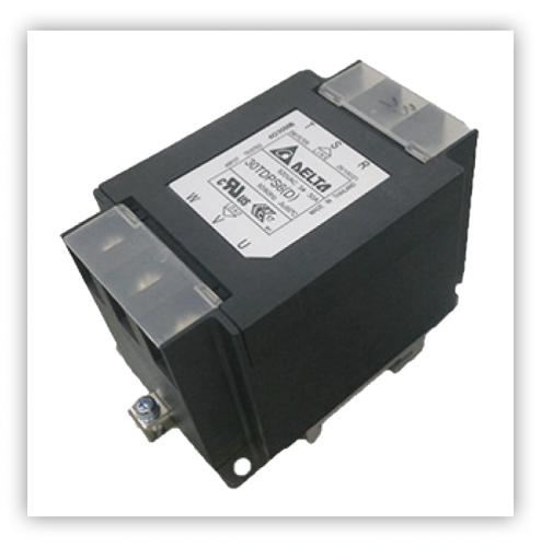 DELTA台達三相鋁軌式濾波器