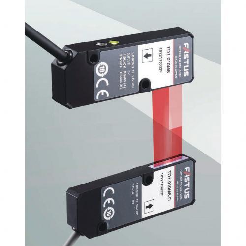 TD1對射型邊緣量測感測器